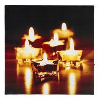 LED Obraz kúzlo Vianoc