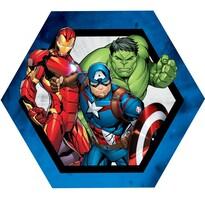 Tvarovaný vankúšik Avengers group, 31 x 24 cm