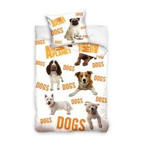 Bavlnené obliečky Animal Planet Psy, 140 x 200 cm, 70 x 80 cm