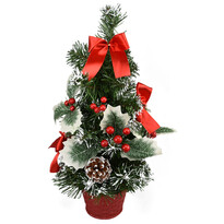 Vánoční stromek Celebración červená, 30 cm