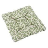 Sedák Ivo Ornament zelená, 40 x 40 cm
