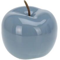 Dekorační jablko Rollo, modrá