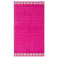 Osuška Mozaik růžová