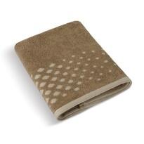 Ręcznik Mozaika brązowy, 70 x 140 cm