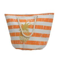 Plážová taška Pineapple oranžová, 35 x 38 cm