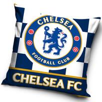 Polštářek Chelsea FC Check, 40 x 40 cm