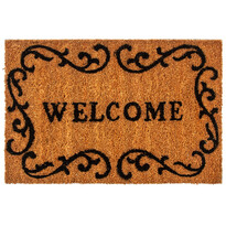 Kokosová rohožka Welcome frame, 40 x 60 cm