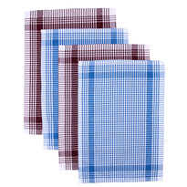Kuchyňská utěrka Classic bordó a fialová, 50 x 70 cm, sada 4 ks