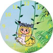 Zegar naścienny Rusałka Amalka, 34 cm