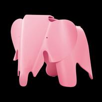 Detská sedačka EEL Eames Elephant, svetlo ružová