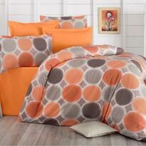 Bavlněné povlečení Delux Targets oranžová