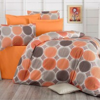 Lenjerie de pat, din bumbac, Delux Targets