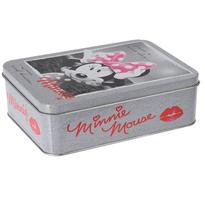 Mickey Mouse Metalowy pojemnik Minnie, szary