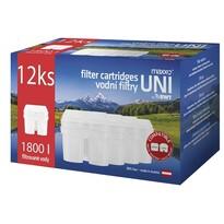 Maxxo UNI  filtry wodne 12 szt.