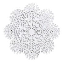 Vianočná závesná dekorácia Ermi biela, 4 LED