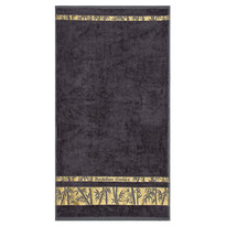 Ręcznik Bamboo Gold szary, 50 x 90 cm