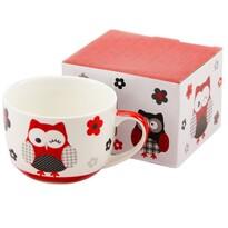 Hrnček Červená sova v darčekovej krabičke 500 ml