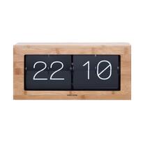 Karlsson 5642WD Designowy stołowy zegar klapkowy, 37 cm