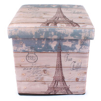 Skládací sedací box Eiffelova věž