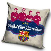 Vankúšik FC Barcelona Futbol Club, 40 x 40 cm