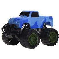 Monster truck kék, 13 cm