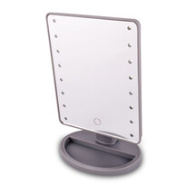 Kozmetické zrkadlo Lumiére, sivá