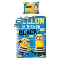 Dětské bavlněné povlečení Já padouch Mimoni Yellow, 140 x 200 cm, 70 x 90 cm