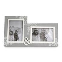 Ramă foto dublă Love Winter 31,5 x 18 cm