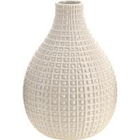 Wazon ceramiczny Pompei beżowy, 28 cm