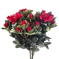 Umělá květina azalka červená