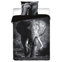 Bavlnené obliečky Slon, 140 x 200 cm, 70 x 90 cm