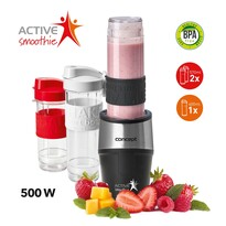 Concept SM3385 smoothie maker Active Smoothie500 W čierna 2 x 570 ml + 400 ml