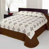 Narzuta na łóżko Bela beżowy, 140 x 220 cm