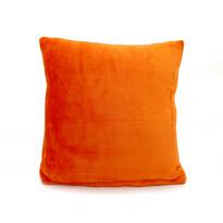Vankúšik Mikroplyš New oranžová, 40 x 40 cm
