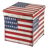 Pudełko składane do przechowywania z nadrukiem