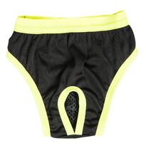 Hárací kalhotky Bina černá zelený lem, 70 cm