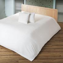 4Home prehoz na posteľ Imperial krémová, 220 x 240 cm, 2 ks 40 x 40 cm