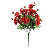 Umelá kytica červených kvetov