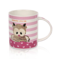Porcelánový hrnek Little owl 280 ml