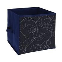 Cutie de depozitare Line, din material textil, 27 x 27 x 27 cm