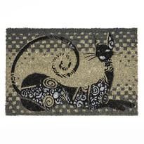 Kokosová rohožka ležiace mačka, 40 x 60 cm
