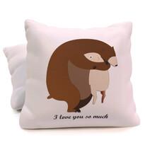 I love You Teddy Bear párna, 40 x 40 cm