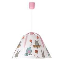 Rabalux 4567 Cathy dziecięca lampa sufitowa, różowa