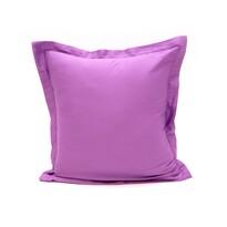 Povlak na polštářek s lemem satén tmavě  fialová