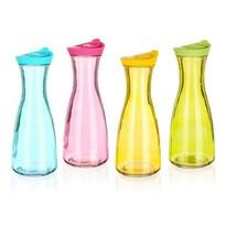 Banquet Skleněná láhev Misty barevná