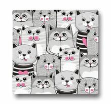 Butter Kings Obraz na plátně Grey Kitties