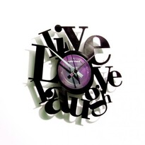 Discoclock 007 Live love laugh falióra
