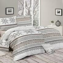 Matějovsý Flanelové obliečky Snow, 140 x 200 cm, 70 x 90 cm