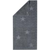 Cawö Frottier ručník Star šedá