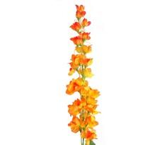 Umělá květina Stračka oranžová